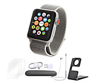 Apple Watch Series 3 Cellular 38mm Sport Loop Band - Silver - E293153