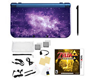 Nintendo 3DS XL with Zelda Game & Accessories -Galaxy - E294053