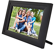Wifi 10 Touchscreen Picture Frame w/ App, Pair up to 7 Devices - E231154