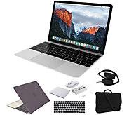 Apple MacBook 12 i5, 8GB, 512GB SSD & Accessories - Silver - E292954