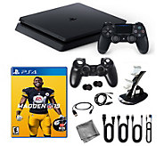 PS4 1TB Console with Madden NFL 19 and Accessories - E295354
