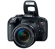 Canon EOS Rebel T7i DSLR Camera with 18-135mm Lens - E299654
