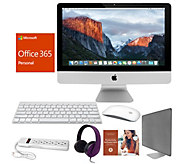Apple iMac 21 2.3GHz Core i5 8GB RAM 1TB HDD w/ Accessories & MS Office 365 - E232355