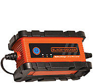 Black & Decker 6 AMP Waterproof Battery Charger/Maintainer - E283055