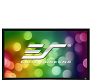 Elite Screens 100 Sable Fixed-Frame ProjectionScreen - E293556