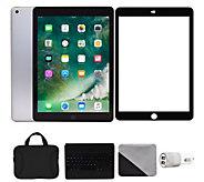Apple iPad 9.7 32GB Wi-Fi & Cellular with Keyboard - Gray - E293757