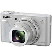 Canon PowerShot SX730 HS Digital Camera with Case & SD Card - E294957