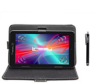 LINSAY 7 HD Quad Core Android Tablet with Caseand Pen - E300057