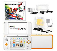 Nintendo 2DS XL White with Mario Kart 7 andAccessories - E295358