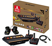 Atari Flashback 8 Gold Deluxe HD Console with 120 Games and Accessories - E231059
