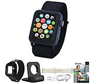 Apple Watch Series 3 Cellular 38mm Sport Loop & Accessories - E232259