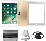 Apple iPad Mini 4 128GB Wi-Fi with Bluetooth Keyboard & More - E294859