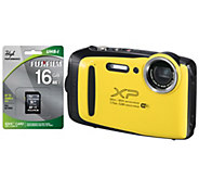 Fuji FinePix XP130 Weather Proof Camera with 16GB SD card - E296359