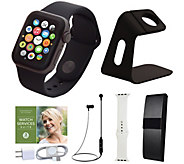 All-New Apple Watch Series 4 40mm GPS with Extra Band and Accessories - E232560