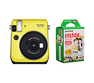 Fuji INSTAX Mini 70 Camera with 20-Pack Film - E288861