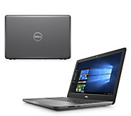 Dell 15 Laptop AMD 7th Gen A9 8GB RAM 1TB HDD w/ Tech Support & Software Pack - E231862