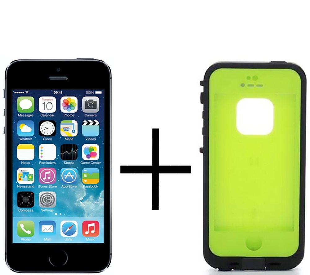 Apple Iphone 5s 16gb Gsm W Lifeproof Fre Case 16 Gb