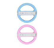Steering Wheel Compatible with Wii Motion Plus- 2 Pack - E247663
