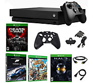 Xbox One X 1TB Console with Four Games and Accessories - E293963
