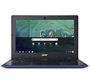 Acer 11.6 LED HD Chromebook Laptop -  4GB RAM,32GB SSD - E296163