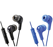 JVC Gumy Gamer Earbuds with Microphone 2 PK - E296663