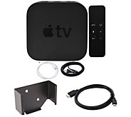 Apple TV 32GB with Wall Mount and HDMI Cable - E292964
