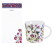 Vera Bradley Big List Pad and Ceramic Mug - E304364