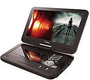 Impecca 10.1 Portable DVD Player and Media Player - E286265