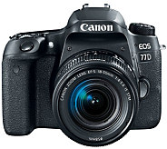 Canon EOS 77D DSLR Camera with 18-55mm Lens - E291365