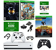 Xbox One S 1TB with PUBG, HALO & Sunset Overdrive Games - E294065