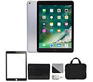 Apple 2018 iPad 9.7 128GB Wi-Fi & Cellular Bundle - Gray - E294665