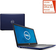 Dell 17 Laptop AMD FX QuadCore 8GB RAM 1TB HDD w/ Backlit Keys & MS Office 365 - E231866