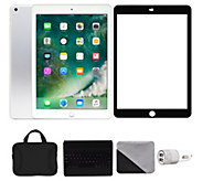 Apple iPad 9.7 128GB Wi-Fi with Accessories -Silver - E292866