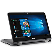 Dell 11 Touch 2-in-1 Laptop AMD A9 500GB HD w/ Voucher & Office Option - E232167