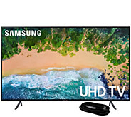 Samsung 43 Class LED 4K HDR Smart Ultra HDTV &HDMI Cable - E294467