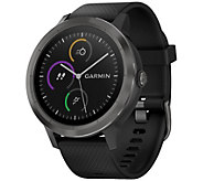 Garmin vivoactive 3 GPS Smart Watch - Slate - E294967