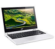 Acer 11.6 LED HD Touch Chromebook R 11 - Celeron, 4GB, 32GB - E296167