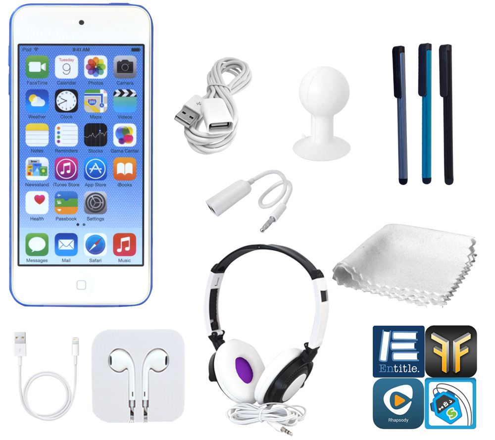 Apple Ipod Touch 128gb 6th Gen With Dj Headphones More Page 1