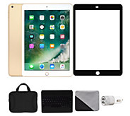 Apple iPad 9.7 128GB Wi-Fi & 4G with Accessories - Gold - E292868