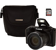 Canon Powershot SX420 IS Wifi 20MP Digital Camera with 42x Zoom & Accs. - E232869