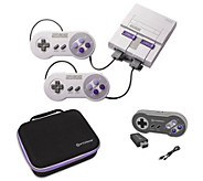 Nintendo Super NES Classic with Wireless Controller & Case - E294569