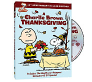 Charlie Brown Thanksgiving 40th Anniversary Deluxe Edition DV - E285270