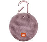 JBL Clip 3 Portable Bluetooth Speaker - E295470