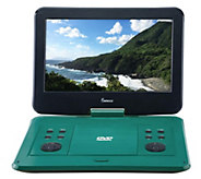 Impecca 13.3 Portable DVD Player w/ 180-DegreeSwivel Screen - E294271
