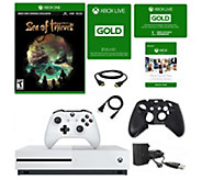Xbox One S 1 TB Sea of Thieves Console with 3 Months Xbox Liv - E294371