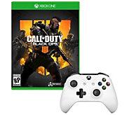 Xbox Call of Duty: Black Ops 4 & Con troller - E295871