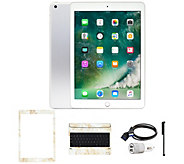 Apple iPad 9.7 32GB Wi-Fi Tablet with Keyboard and Accessories - E232072