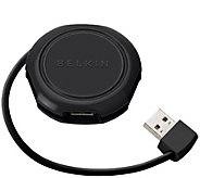 Belkin 4-Port Travel USB Hub - E286772
