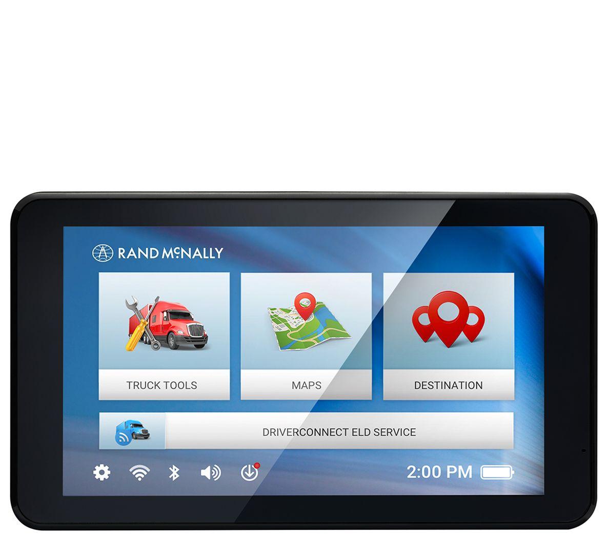 Rand Mcnally Gps >> Rand Mcnally Tnd 740 Gps Navigation For Truckswith 7 Display Qvc Com