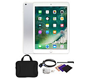 Apple iPad 9.7 32GB Wi-Fi Tablet with Carrying Case and Accessories - E232073